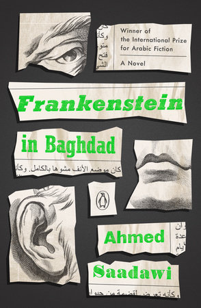 Frankenstein in Baghdad Book Cover