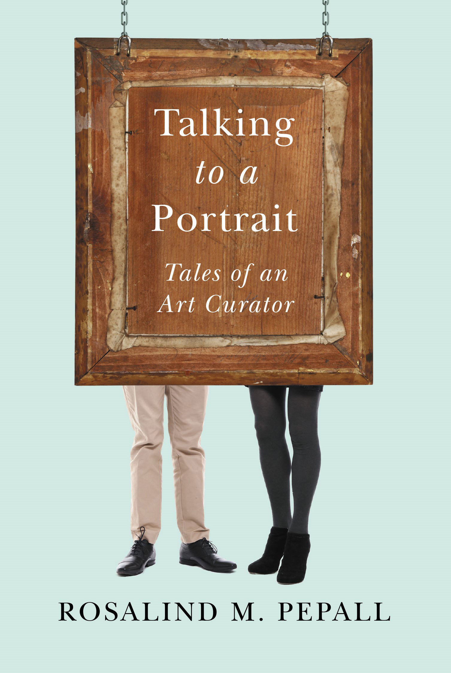 Talking to a Portrait Book Cover